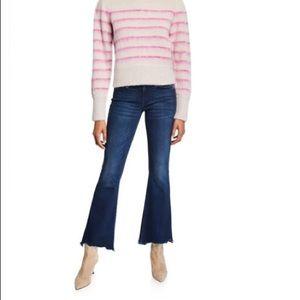 Mother Weekender Crop Flare Jean